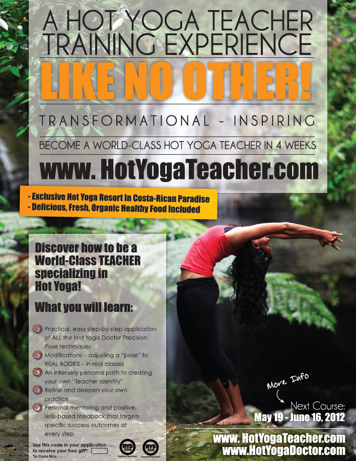 Hot Yoga Doctor Pro Poster